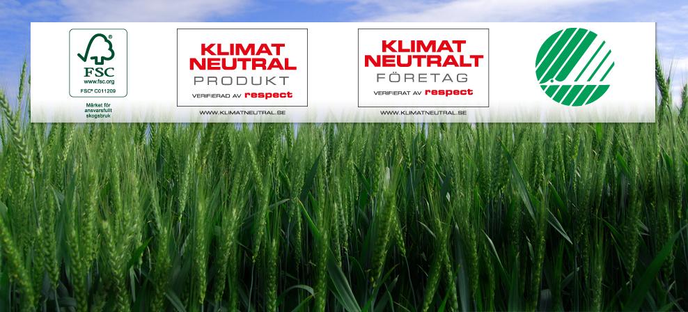 Välj en<BR>klimatneutral<BR>trycksak.